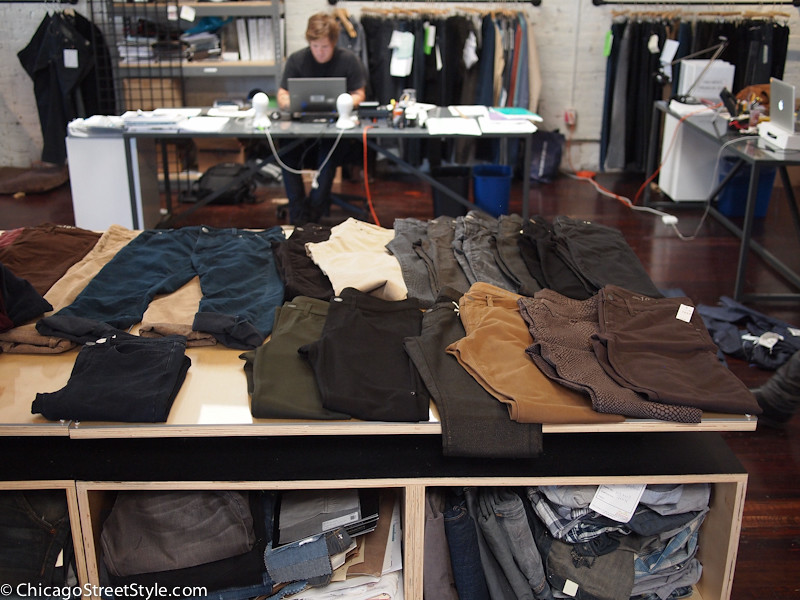 table of pants