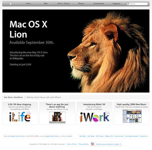 OS X Lion: Octava Version del Sistema Operativo Mac
