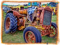 Old Minnie Mo Twin City Model KTA Tractor (circa 1937) (Dave Reasons) Tags: show tractor rust antique pa gettysburg material mm chambersburg minneapolismoline kta twincity minniemo topazadjust ononeframes topazlenseffects minneapolissteelmachinerycompany