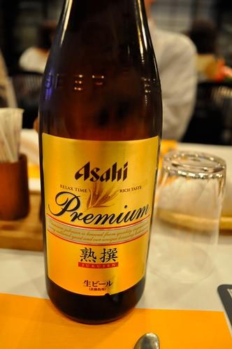 アサヒプレミアム生ビール熟撰