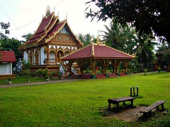 Wat, Attapeu, Laos (Ferry Vermeer) Tags: travel temple asia southeastasia buddhism vat laos wat buddhisttemple lao indochina travelphotography  attapu attapeu  lo   laosa indochinesepeninsula   attapeuprovince  laosz  laokok  laosas  monasterytemple indochinapeninsula indochineseregion indochinaregion attopu attapuprovince attopuprovince ferryvermeer