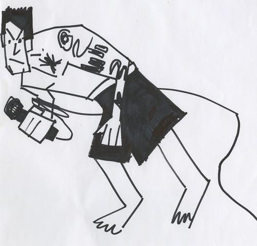 Henry Rollins doodle