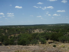 View looking out from the Scenic Overlook (a3rynsun) Tags: park texas hiking tx scenic trail overlook enchantedrock scenicoverlook