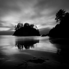 Silent Island, A Reflection (nlwirth) Tags: yup humboldtcounty trinidadcalifornia bwnd110 sonyalpha700 1118mmwideangle bestcapturesaoi nlwirth photocontesttnc12 trinidadheadstatebeach