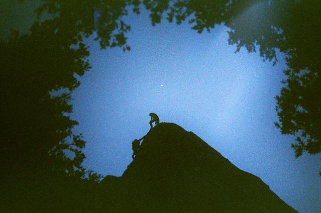 a fun night climb