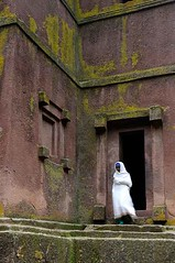 Woman Worshipper, St Georges Church, Lalibela, Ethiopia