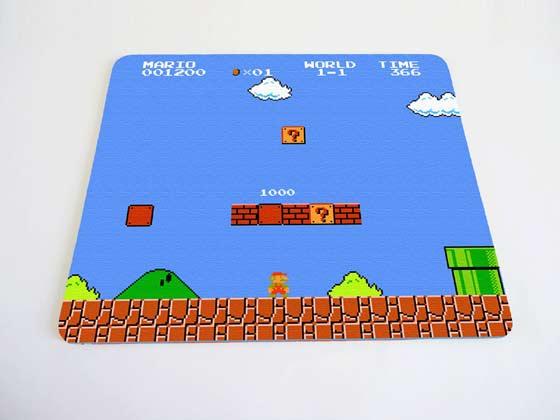mouse pad de videojuegos