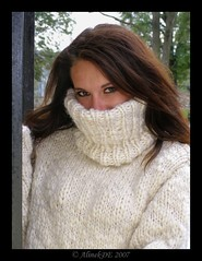 Knitted Turtleneck wool sweater (Mytwist) Tags: winter woman sexy wool girl female fetish cozy sweater big warm soft jumper turtleneck brunette heavy polo thick sweatergirl collor rollneck rollkragen grobstrick