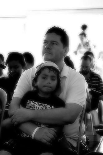 Amigos: pai e filho