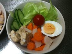 朝食サラダ(2011/8/14)