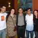 Thiago, Laila, Smiley, Sami e eu