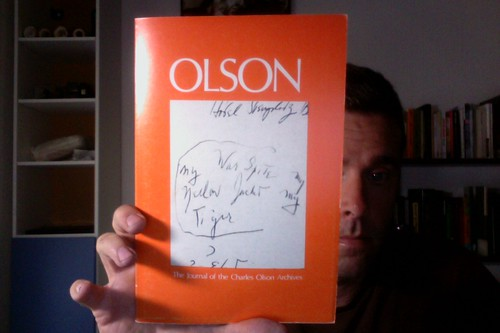 Olson: The Journal of the Charles Olson Archives, Number 3 by Michael_Kelleher