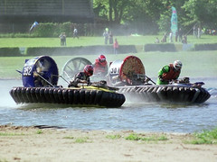 Hovercraft-Rennen (Europameisterschaft 2002)