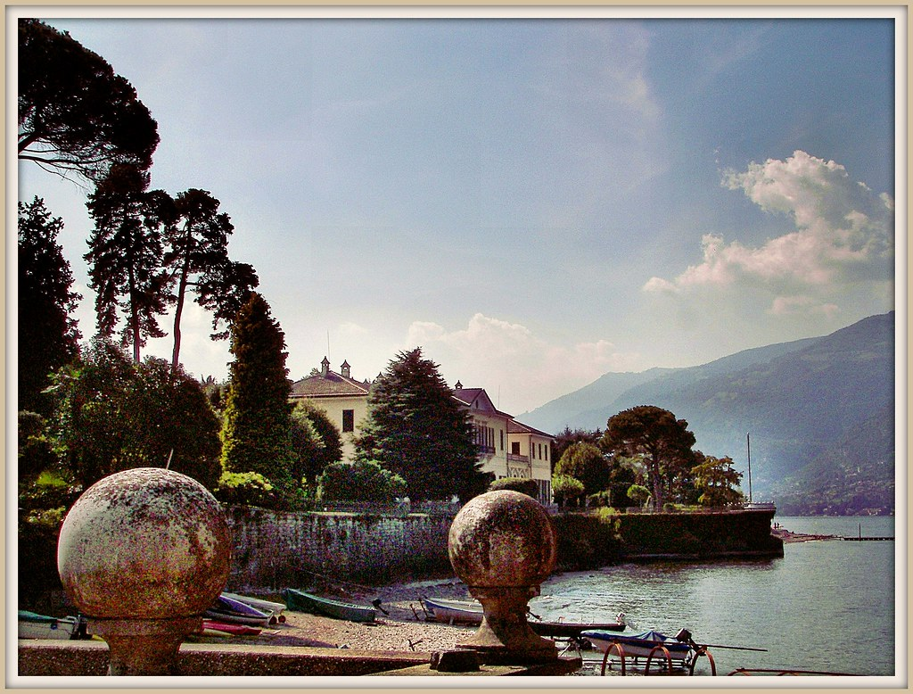 Villa Trivulzio / Villa Gerli - puerto Loppia - Bellagio - Como