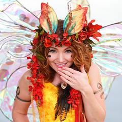Beautiful Twig the Fairy Smiling (gbrummett) Tags: red beautiful smile yellow wonderful fun pretty az fairy fantasy gilbert gilbertarizona twigthefairy mg4537 canoneos5dmarkiicamera grantbrummett canonef200mmf2lusmtelephotolens