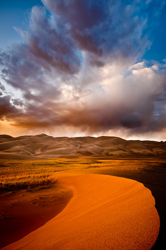 """Storm Over the Great Sand Dunes"" ~ Colorado ~ Private ~ Photography ~ Workshop"
