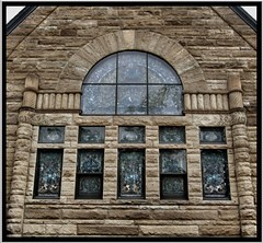 First Presbyterian Church ~ Beaver PA (Onasill ~ Bill Badzo) Tags: county windows roof usa building tower church glass stain stone architecture place district entrance first historic beaver christian holy american register romanesque presbyterian gable registry richardsonian nrhp onsaill