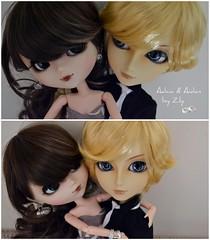 Adaia & Aedan Pullip Blanche & Tae Andrew ( Zuley ) Tags: girl eyes doll dolls sweet andrew planning blanche pullips jun obitsu taeyang rewigged formydoll adaiaaedan