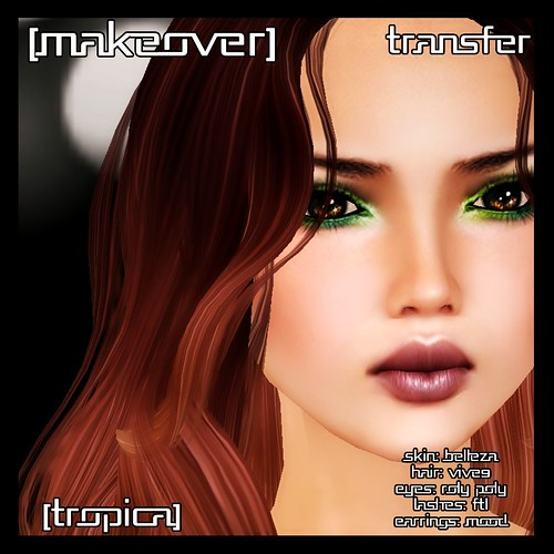 Tropica makeover @ [mock] cosmetics by Mocksoup