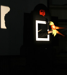 """BraneSolce_Teatro Papelito (Pinacoteca Internazionale dell'Età Evolutiva """"Ald) Tags: teatro spettacolo rezzato papelito guardaluccellino pinac silviapalermo branesolce"""