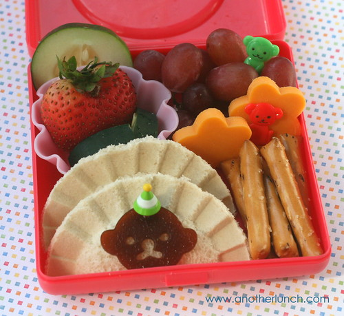 creepy little monkey bento