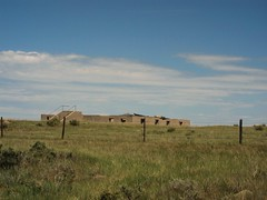 ,IMG_9052 (Eli Nixon) Tags: road light shadow sky usa sun rural landscape colorado exterior space roads prairie plains frontier drivebyshooting highplains elinixon morningdrivewithgrover groverco canons90