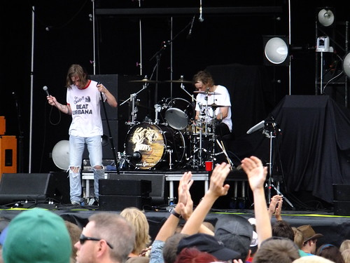 Cage The Elephant at Ottawa Bluesfest 2011