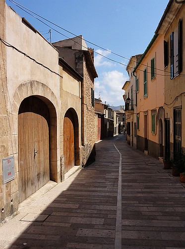 Street in Alcúdia Old Town