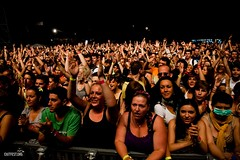 Crowd at Santigold, Main Stage #EXIT2011