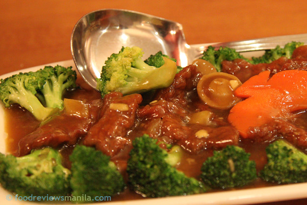 David's Tea House Beef with Broccoli Flower