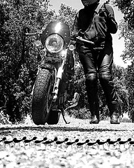 Girl on a Motor Cycle - July 2011 (Stevecollection2008) Tags: girlonamotorcycle ducati1000gt
