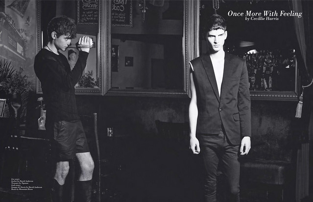 """Once More With Feeling"" editorial in Carbon Copy issue 7"