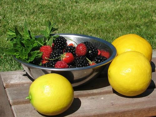Spicy Berry Preserves: Ingredients