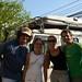 Thierry, Coralie, Michelle e Roy