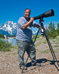 Jeff Clow - True Friend and Inspiration to All (Wil_Bloodworth) Tags: mountain water river lens nationalpark nikon dam snakeriver wyoming mountmoran grandtetons jacksonhole grandtetonnationalpark jacksonlake jacksonlakedam 600mm jeffclow