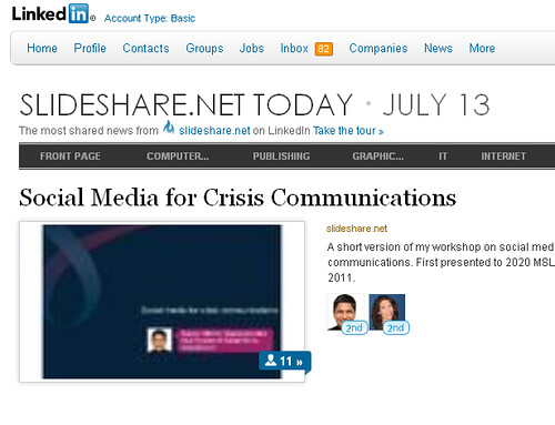 SlideShare on LinkedIn