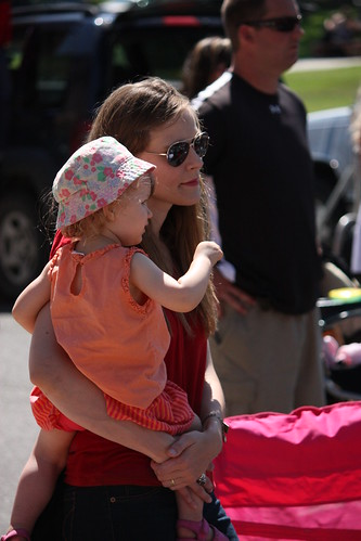 Cordelia and I at parade