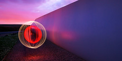 Orb it (Spencer Bowman) Tags: light lightpainting trails orb panoramic