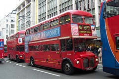 Arriva London RML2636 Oxford Street 230405 (jmupton2000) Tags: london buses transport routemaster rm arriva aec rml