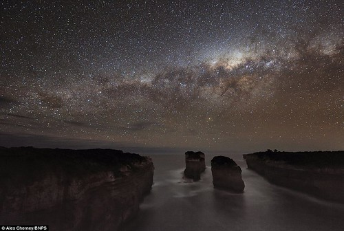 The Milky Way so close you can almost taste it Breath-taking snaps of galaxy seen with the naked eye  4