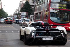 Howling. (Alex Penfold) Tags: auto street camera summer london cars alex sports car sport mobile canon photography eos photo cool flickr image awesome flash picture super spot harrods knightsbridge arabic exotic photograph arab spotted hyper supercar spotting cinque numberplate exotica sportscar zonda qatar sportscars supercars 77777 pagani penfold sloane spotter qtr 2011 hypercar 60d hypercars alexpenfold