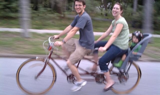 Tandem Bike Riding