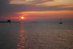 Sunset#2 (Michele Naro) Tags: italien sunset sea italy nikon meer tramonto mare sonnenuntergang sicily sicilia trapani sizilien d80