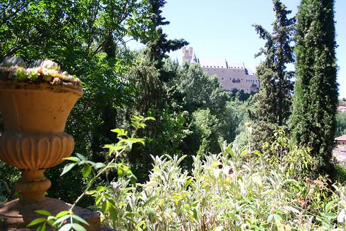 Ventana al Alcázar de Segovia