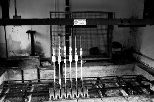 Levers removed from the station