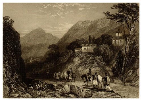 002-Vista de Kalchingra cerca de Argos-La Grèce pittoresque et historique 1841- Christopher Wordsworth-© Biblioteca de la Universidad de Heidelberg
