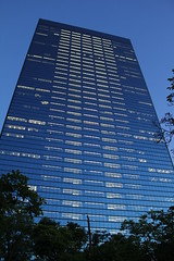 The Crystal Tower, Osaka Business Park (Takashi K. A) Tags: osakabusinesspark thecrystaltower