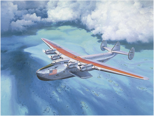 Boeing 314 Clipper by Shigeo Koike