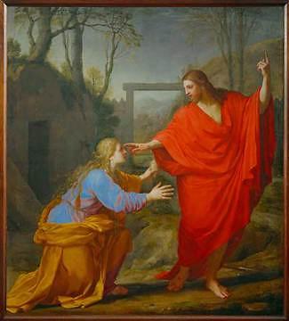 Eustache Le Sueur, L'Apparition du Christ à la Madeleine (3e quart du 17e siècle)