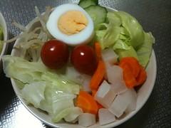 朝食サラダ(2011/7/17)